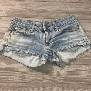 AG • The Daisy Distressed Cut Off Shorts